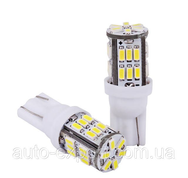 Светодиодные лампы LED T10 W5W 30 SMD (3014)(12V)