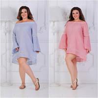 Платье женское  летнее,БАТАЛ,мод.5118