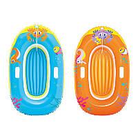 Детский надувной плотик BW 34009 караблик краб, 2 цвета, 137-89 см,, фото 1