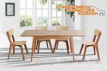 Стіл обідній Рондо розкладний 1400(+400)*750 Мікс меблі