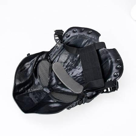 Маска Хищник для страйкбола, лыжная маска, пейнтбол, фото 2