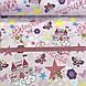 Бавовняна тканина (ТУРЕЧЧИНА шир. 2,4 м) принцеси рожеві №32-21, фото 3