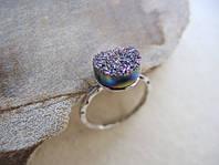 Оригинальное серебряное кольцо для женщин от WickerRing