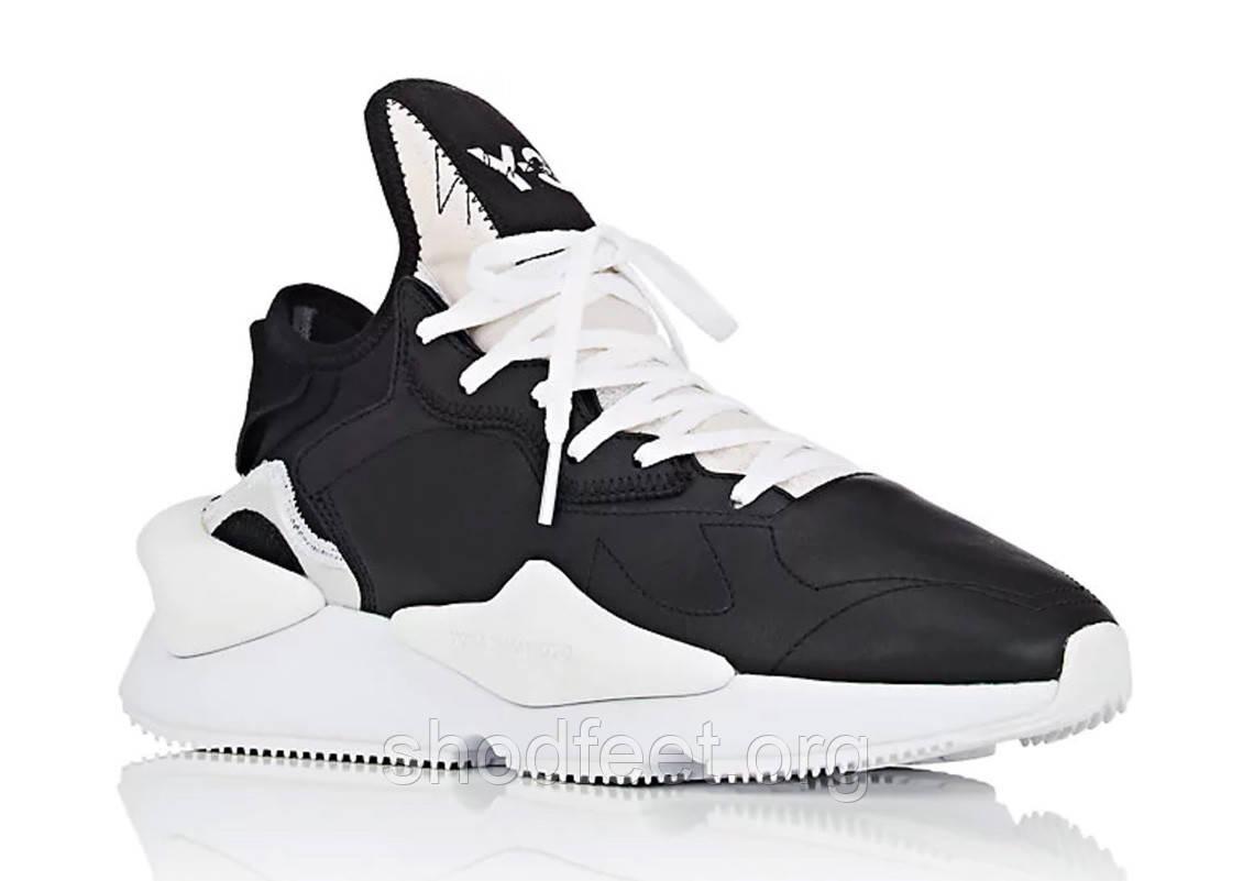 Мужские кроссовки Adidas Y-3 Kaiwa Chunky Sneakers Yohji Yamamoto Black