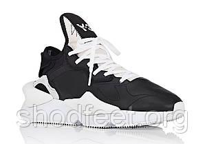 Женские кроссовки Adidas Y-3 Kaiwa Chunky Sneakers Yohji Yamamoto Black