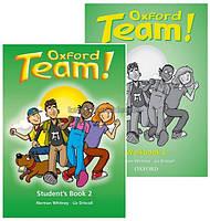 Английский язык / Oxford Team / Student's Workbook. Учебник+Тетрадь (комплект), 2 / Oxford