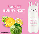 TONY MOLY Матирующий Мист для лица Pocket Bunny Sleek Mist 60ml, фото 3