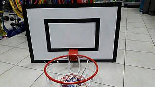 Щит с баскетбольным кольцом, уличный, +сетка 103*72см