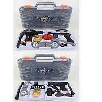 Детский игровой Набор полиции в чемодане, 2 вида,H893-4