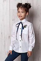 Блуза стильная школьная  для девочки оптом