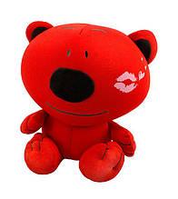 """Антистрессовая игрушка мягконабивная """"SOFT TOYS """"Ведмідь"""", поцелуй, 30*20см"""