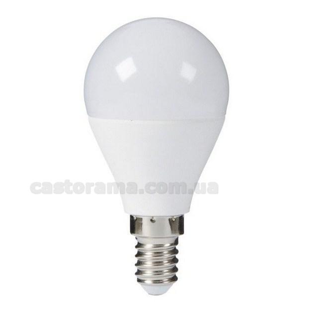 лампа Led Diall королей G45 E14 8 5 вт 806 лм молочный цвет тепла продажа цена в луцке лампочки от тов Castorama 712882302