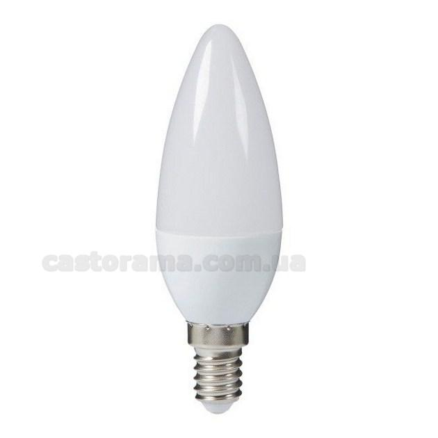 лампа Led Diall королей C35 E14 3 6 в 250 лм молочный цвет тепла продажа цена в луцке