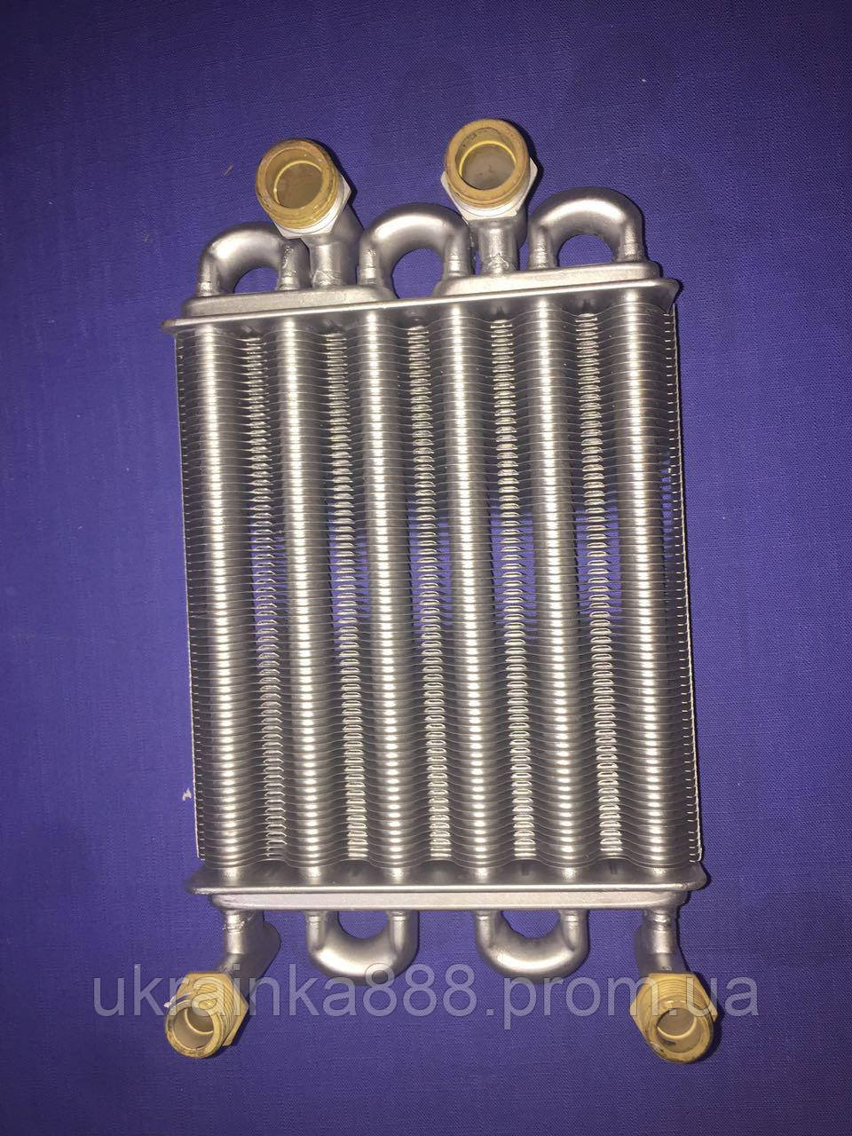 Теплообменник битермический Solly Stanbart H 18 Оригинал. (резьба) , фото 1