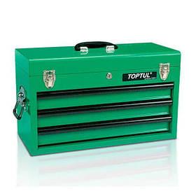 Ящик для инструмента 3 секции 508 (L) x232 (W) x302 (H) mm, TBAA0303 TOPTUL