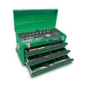 Ящик с инструментом 3 секции 99 ед., GCAZ0038 TOPTUL