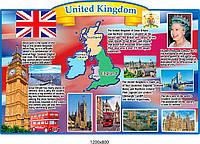 Стенд Королевство Великобритании на английском языке