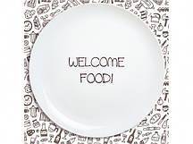 Тарелка Добро пожаловать