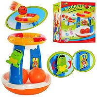Детская музыкальная развивающая игрушка Баскетбольное кольцо 7050, фото 1