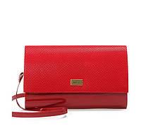 Красный женский клатч NLC-171398 универсальный, фото 1