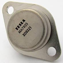 MA7805 (5,0V &3A) TO-3 (TESLA) положительный стабилизатор напряжения