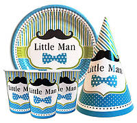 Набор праздничный Little man Маленький джентельмен на 3 персоны
