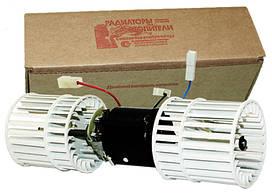 """Электродвигатель отопителя ГАЗ 3302, ПАЗ, 12В с двумя крыльч. ф/уп. отопит. ОСА9000.12 """"АвтоРад"""""""