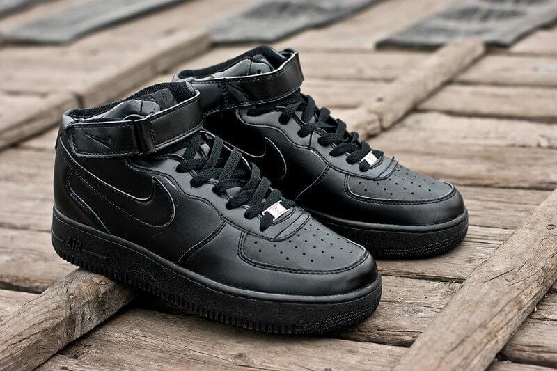 1cc9762d2fad Женские кроссовки Nike Air Force 1 High Черные - Интернет магазин обуви  «im-РоLLi