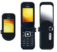 Корпус для Nokia 7373 с клавиатурой, черный, оригинальный