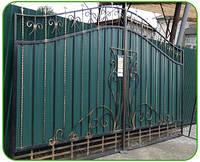 Ворота металлические ВМ-1 (кованые)