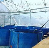 Круглые бассейны для выращивания рыбы