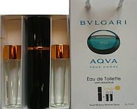 Духи 3в1 Bulgary Aqua pour homme копия