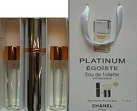 Духи 3в1 Chanel Platinum egoist men копия