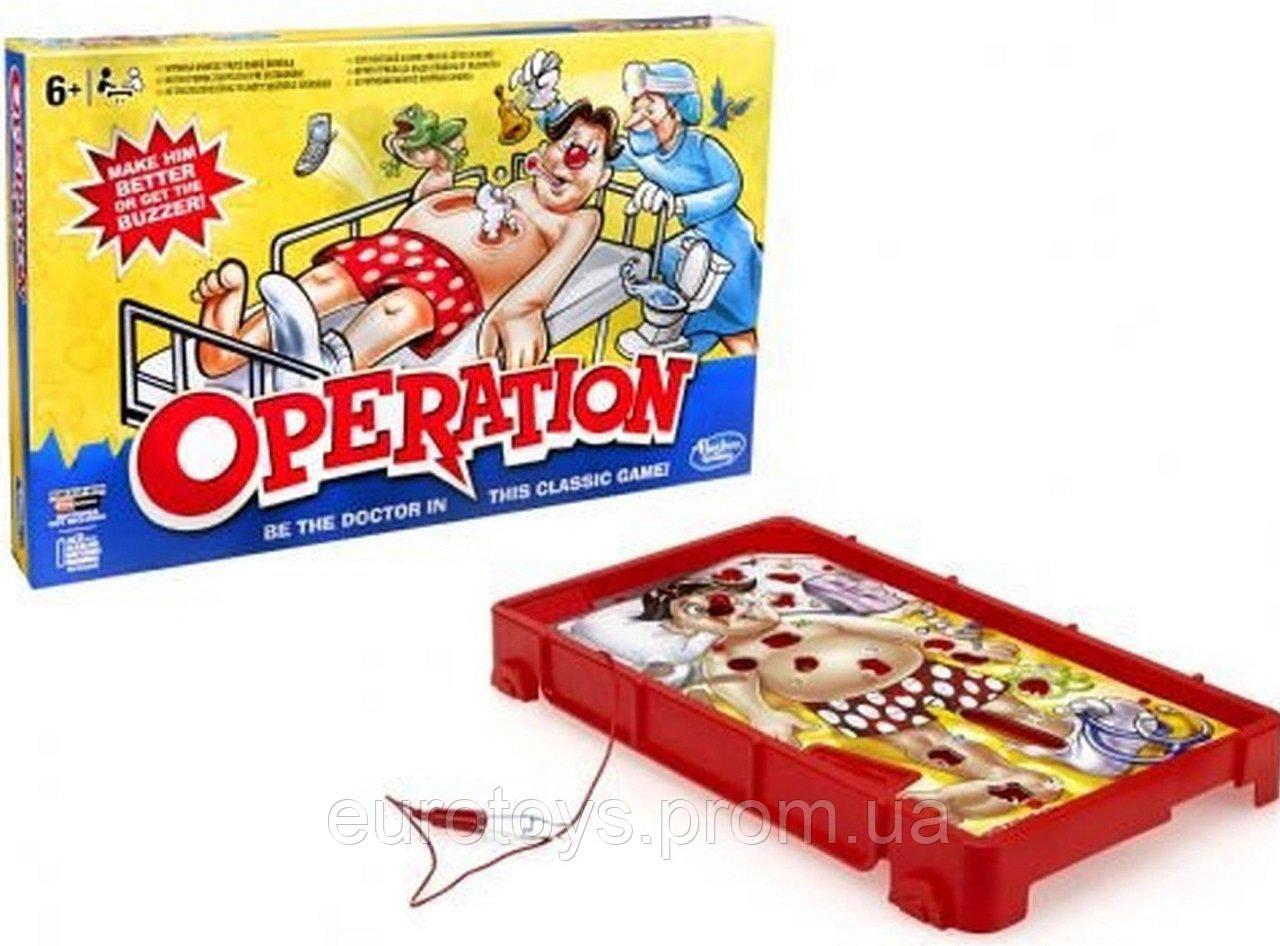 Hasbro Настольная игра Операция (обновленная)