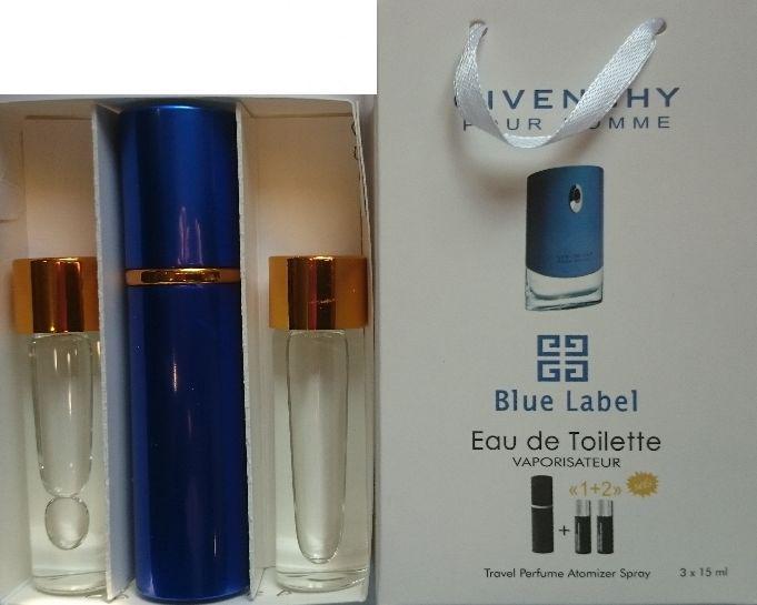 Духи мужские 3в1 Givenchy Blue Label копия (Живанши Блу Лейбл)