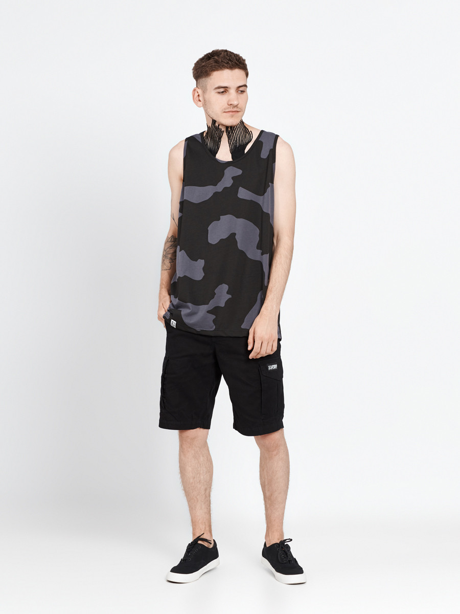 Майка мужская камуфляж CAMO G Urban Planet (футболки, чоловіча майка,
