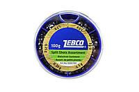 Набір вантажив Zebco Split Shots (100 гр.)
