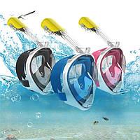 Маска для снорклинга, Подводная маска синяя S-M L-XL,черная S M L-xl,розовая M