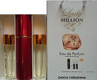 Духи 3в1  Pacco Rabanne Lady Million копия