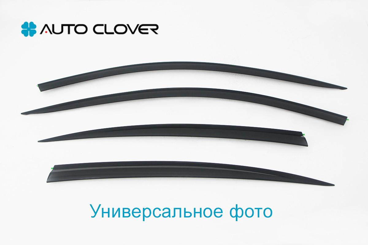Дефлекторы окон ветровики на CHEVROLET Шевроле Aveo Sd 2006-2011 / ZAZ Vida 2012-, кт 4шт