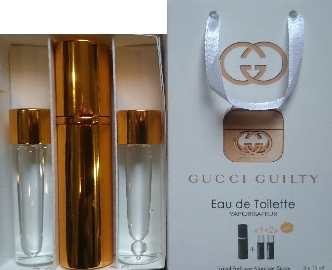 Духи 3в1  Gucci Guilty woman копия