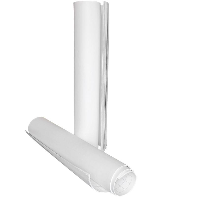 Блок паперу для фліпчарту, 64х90 см, 10 арк, нелін., поліет, 8092-A