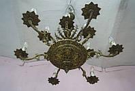 Антикварная бронзовая люстра ночник старинный светильник бра торшер антикварная лампа старинные люстры