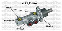 Головний тормозний циліндр (без ABS) Fiat Doblo -05 7082215