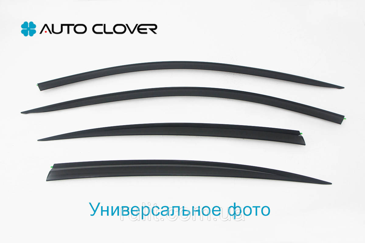 Дефлекторы окон ветровики на KIA КИА Picanto 2004-2011, кт 4шт