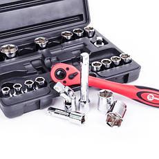 Профессиональный набор инструментов INTERTOOL ET-6021, фото 2