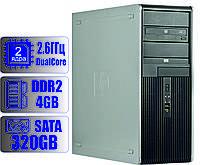 Системный блок HP 2-ядра 2.6GHz/DDR2-4Gb/HDD-320Gb