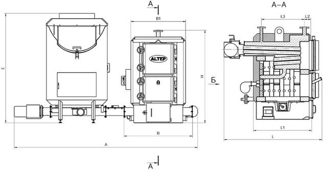 """""""ALTEP BIO"""" 250 кВт"""