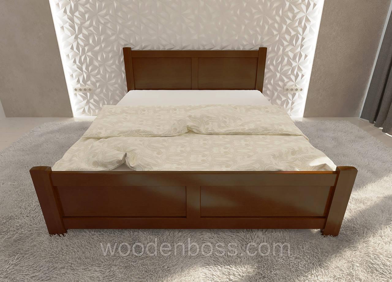 """Кровать односпальная от """"Wooden Boss"""" Палермо (спальное место 90х190/200)"""