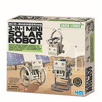 Набор для творчества 4M Робот на солнечной батарее 3-в-1 (00-03377)
